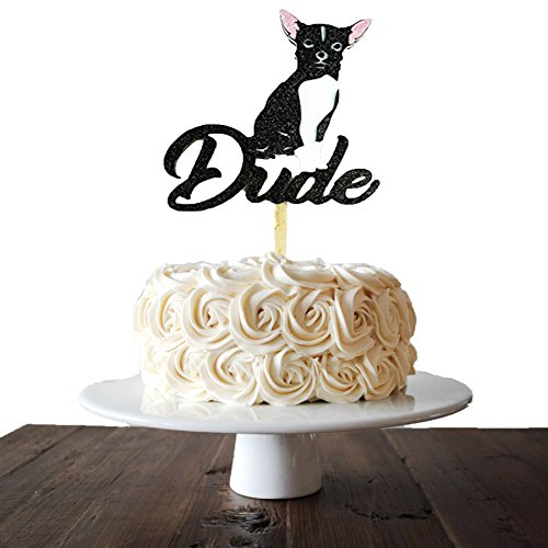 - Cake Topper Pet Personalization Doggy Birthay Party