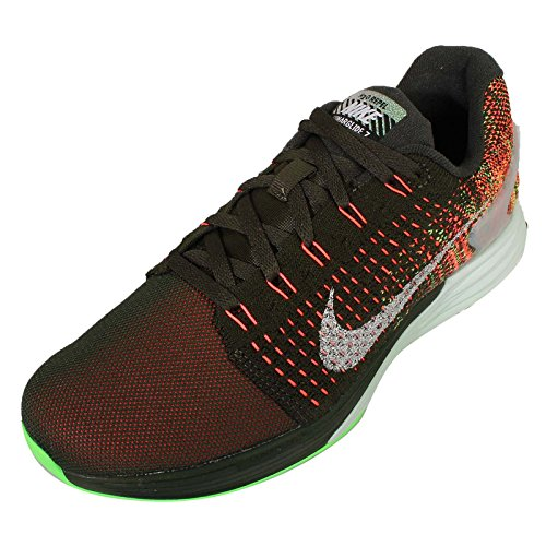 Zapatos de entrenamiento Nike Wmns Lunarglide deportes flash SEQUOIA/REFLECT SILVER-VOLTAGE GREEN