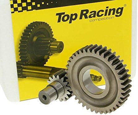 Getriebe sekund/är TOP RACING 15//39 verpresst f/ür APRILIA SR50 Street