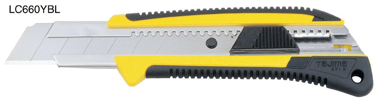 Tajima LC660B - Cú ter con empuñ adura (25 mm) LC660YBL