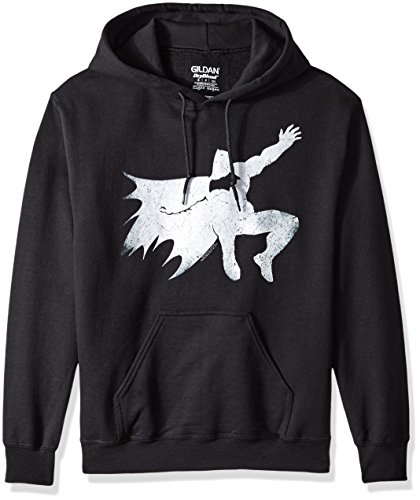 Trevco Men's Batman Vs. Superman Knight Silhouette Hoodie Sweatshirt at Gotham City Store