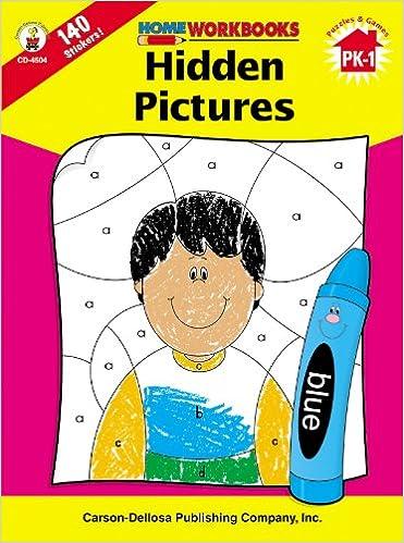 Book Hidden Pictures, Grades PK - 1 (Home Workbooks)