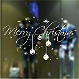 Christmas Snowflake Vinyl DIY wall stickers Christmas decoration window stickers glass stickers background wall sticker Shop Decoration Window For 2015