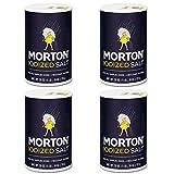 Morton Iodized Salt, 26 oz, Pack of 4