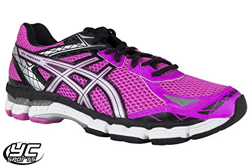 Asics Gel Indicate Women's Running Shoes Hot Pink Silver 2015 YCSports CeiruD