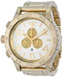 Nixon 51-30 Chrono Watch – Men's Champagne Gold/Silver, One Size, Watch Central