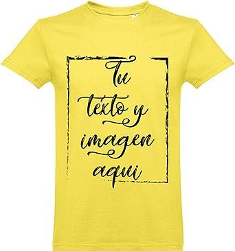 Oneroi Custom Camiseta Algodón Personalizada con Foto y Texto: Amazon.es: Ropa y accesorios