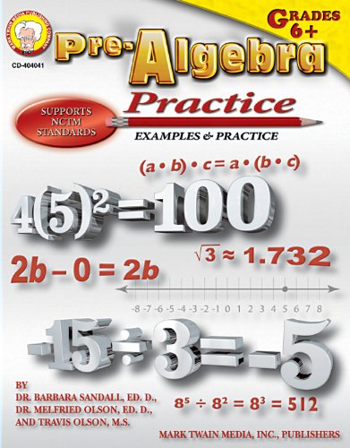 Pre-Algebra Practice Book, Grades 6 - 8 (Lesson 3-3 Practice A Geometry Mcdougal Littell)