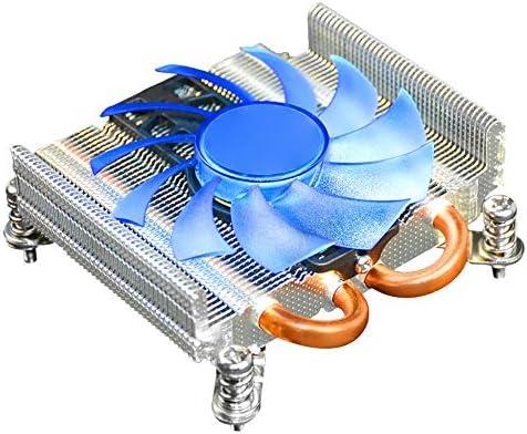 ZHQHYQHHX Ventola di Raffreddamento della CPU e Prestazioni di Raffreddamento Estremamente Elevate HTPC Ultra-Sottile dissipatore di Calore per CPU 775 / 115X