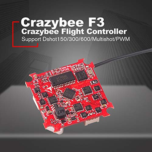 Wikiwand Crazybee Tiny F3 Drone Flight Controller FC with Flysky Receiver/4in1 ESC/OSD
