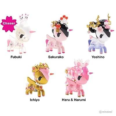 tokidoki Cherry Blossom Unicorno Blind Box ONE Random Figure: Toys & Games