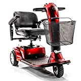 Companion II 3 Wheel Full Size Electric Mobility Scooter GC-340 (RED)