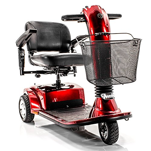 Golden Technologies Companion II 3-Wheel Scooter in Red