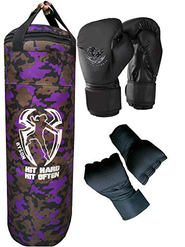 Byson Strong and Tough Boxing Kit Set for Men and All(36 inch Punching Bag, Boxing Gloves, Hand Wrap) Price & Reviews