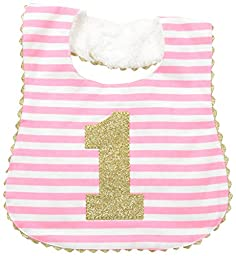 Mud Pie Baby Girl Birthday Bib