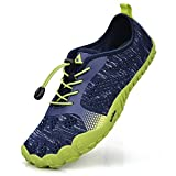 Troadlop Women's Hiking Shoes Lightweight Tennis Sports Running Shoes Blue 12.5 D(M) US