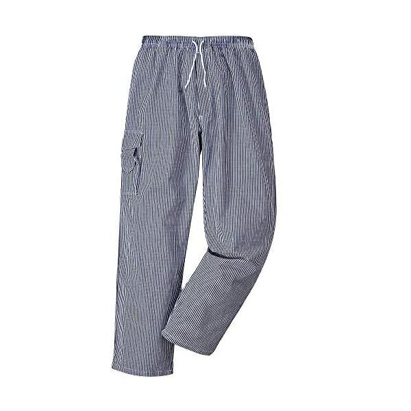 Pantalons Cuisinier Boulanger Pantalons de travail Pantalons de boucher PORTWEST Chester