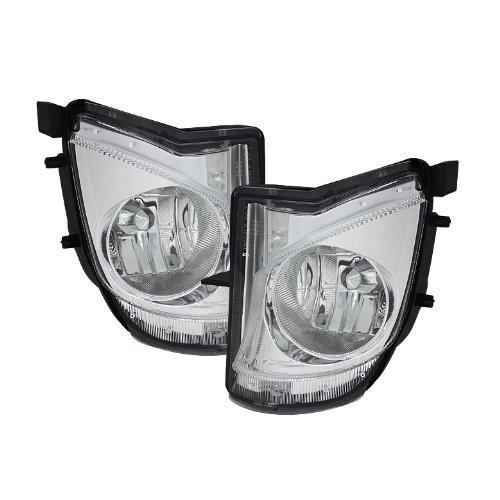 (For Lexus IS250 IS350 4DR Sedan Clear Fog Light Lamp Driver+Passenger Pair)