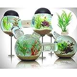 Saver Water Weeds Plastic Simulation Grass Aquatic Plant Fish Tank Aquarium Decoration Ornament