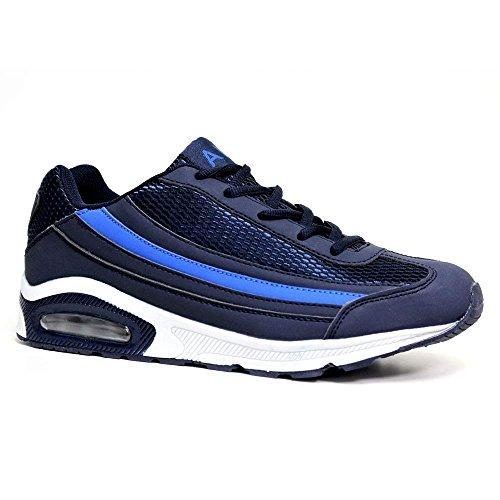 mode marine bleu bleu pour Airtech homme Baskets SqxwZvnf