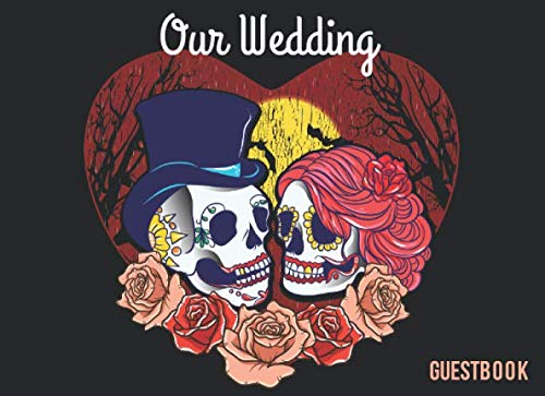 Halloween Themed Wedding Gifts (Our Wedding Guestbook 8.25