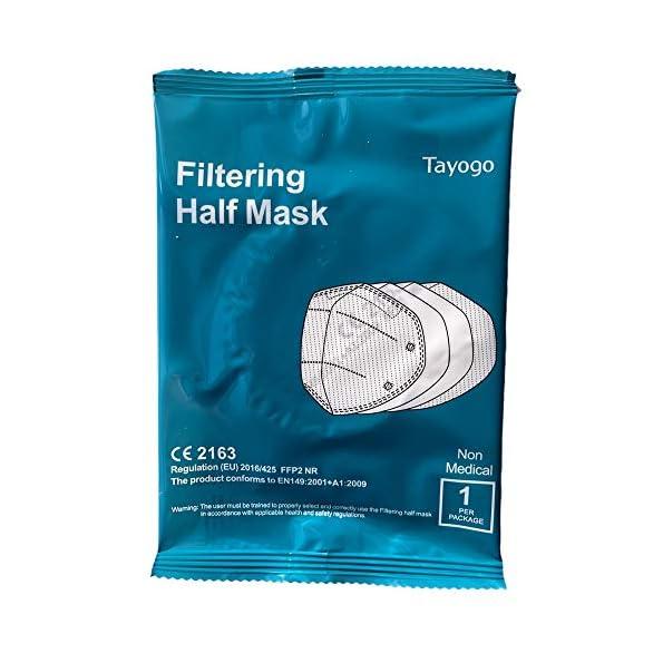 Tayogo-FFP2-Einweg-Masken-mit-Ohren-96-mehrschichtige-Filtration-Maske-KN95-Einheitsgre-10-Stck