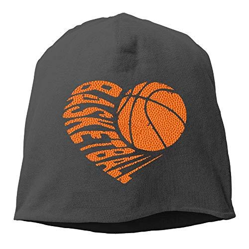 Aegatelate ?3D Basketball Sports Winter Beanie Skull Cap Warm Knit Ski Slouchy Hat Durable Black