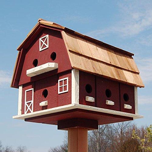 Lancaster Barn Free Standing Birdhouse