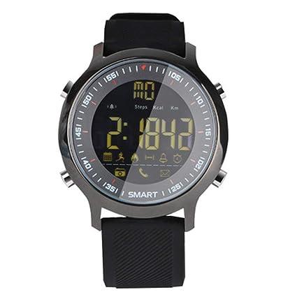 XJRHB Smart Watch Sport Schritt Telefon Informationen Alarm Erinnerung Bluetooth wasserdicht leuchtenden Zifferblatt Lange St