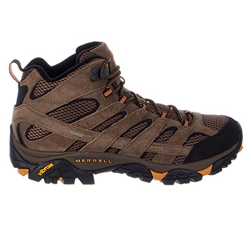 Merrell Men's Moab 2 Vent Mid Hiking Boot, Walnut, 10 M US (Moab Footwear)