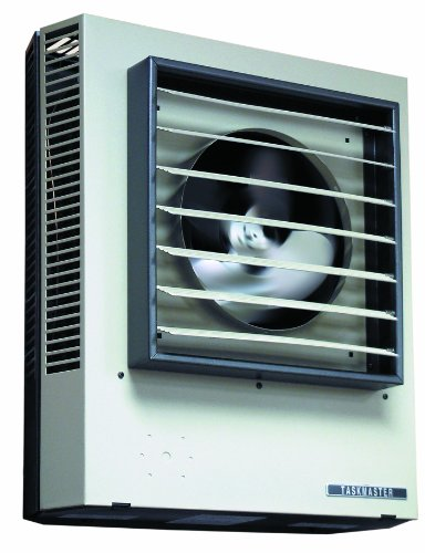 "TPI Corporation P3P5120CA1N Fan Forced Unit Heater, Horizontal or Vertical Mounted, 57 Degree Temperature Rise, 32"" Air Throw Distance, 20kW, 480V"