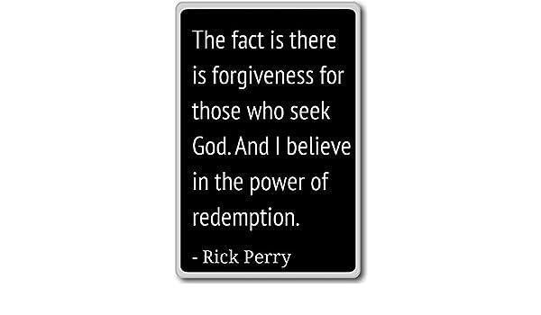 Imán para nevera con citas de Rick Perry, negro: Amazon.es: Hogar