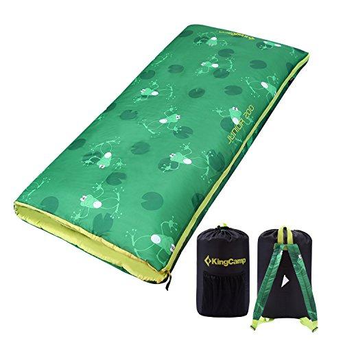 KingCamp JUNIOR 200 Cozy Lightweight Sleeping (Personalized Sleeping Bags For Kids)