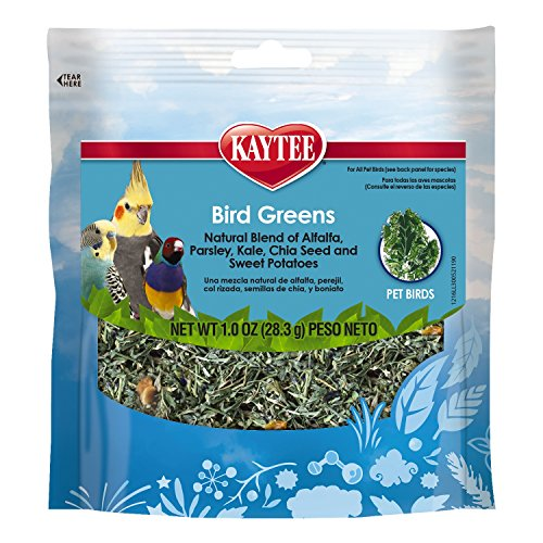 Kaytee Products Inc Treats - Kaytee PRODUCTS C 529082 All Birds Chia/Sweet Pota Foraging Treat Bird Greens, 1 oz