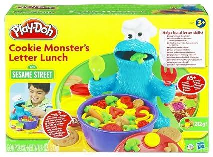 Amazon.com: Hasbro 25255   PLAY DOH Sesame Street Cookie Monster's