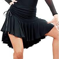 Falda de Danza Latina para Mujer Bailando Traje de Baile Tango ...
