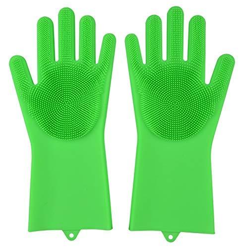 Guantes de limpieza de silicona para cocina, guantes de limpieza ...