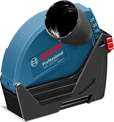 Bosch Professional GDE 125  Ea T Suction Cover Cutting Discs 125  mm/Diameter 25  mm Max Cutting Depth, Tool-free HDD Installation, 300  g, 1600  A003DJ 300 g 1600 A003DJ 1600A003DJ