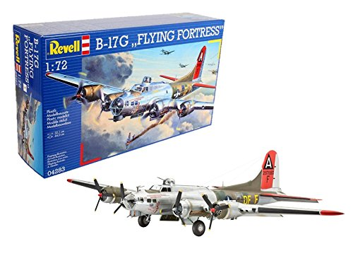 Fortress Bomber B-17g Flying - Revell Of Germany B-17G Flying Fortress