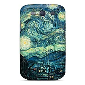 Hot Snap-on Starry Night Hard Cover Case/ Protective Case For Galaxy S3