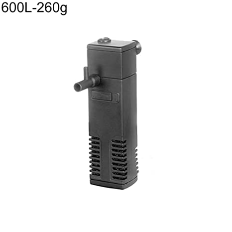 quanjucheer - Mini purificador de Agua silencioso para Acuario (300 L, 600 L,