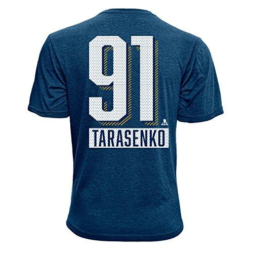Levelwear NHL St. Louis Blues Vladimir Tarasenko Children Icing Name & Number Tee, Youth Large, Navy