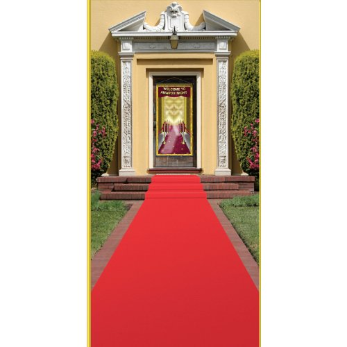 Beistle Carpet Runner 24in Red