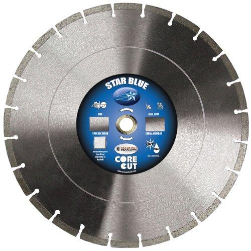 (Diamond Products Core Cut 85261 Star Segmented High Speed Diamond Blade, 14-Inch x 0.125-Inch, Blue)
