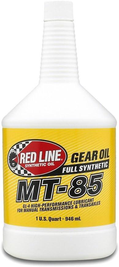 Red Line 50504 MT-85 75W85 GL-4, 1 Quart, 1 Pack