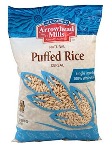Arrowhead Mills Cereal, Puffed Rice, 6 oz. (Pack of 12) Arrowhead Mills Hot Cereal