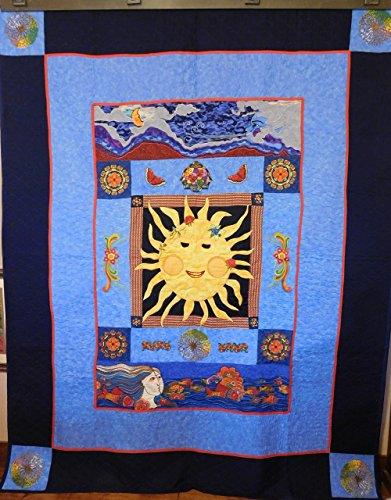 Quilt Fabric Folk Art (