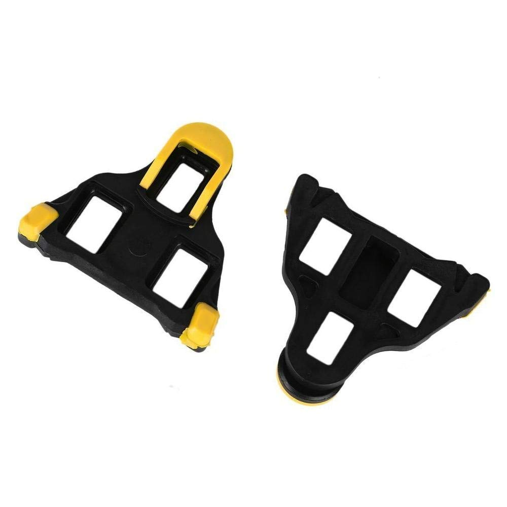 Yellow Self-locking Pedal Road Bicycle Cleat For Shimano SM-SH11 SPD-SL GL