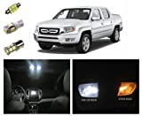 Honda Ridgeline LED Package Interior + Tag + Reverse Lights (19 pieces)