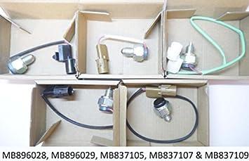 autodily - COMPLETO compatible con todos los 5 MONTERO SHOGUN Caja de transferencia INTERRUPTORES V23 V24 V43 V44 V45 V46: Amazon.es: Coche y moto